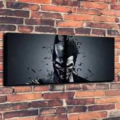 Joker Batman Art Print Oil Painting on Canvas Home Decor Unframed | eBay