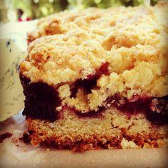 Blueberry crumb bar x