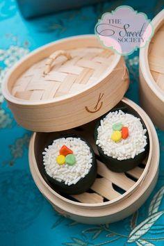 "Photo 11 of 32: Japanese Theme Birthday / Birthday ""Japanese Sushi 10th Birthday Party"" | Catch My Party"