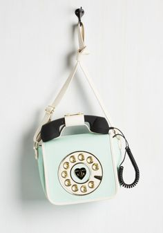 mint phone purse kawaii pastel lolita vintage kitsch fachin purse accessories bag modcloth