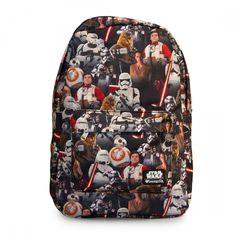 Star Wars: The Force Awakens Multi Character Backpack - Star Wars - Brands