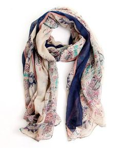 Available to buy here: https://catchoutfit.com/products/floral-scarf