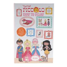 Tiger Tribe Piccolo How-to-Draw for Girls Set