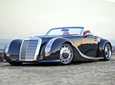 Mercedes-Benz GWA 300 SLC new life for old roadster – VilingStore Mercedes Auto, Mercedes Classic Cars, E90 Bmw, Lux Cars, Roadster, Classy Cars, Futuristic Cars, Unique Cars, Amazing Cars