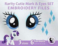 Mon petit poney marque de Cutie rareté & yeux ensemble