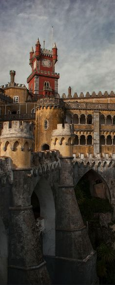 Da Pena Castle, Sintra, Portugal
