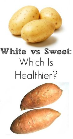 White Potato vs Sweet Potato: Which Is Healthier? You Might Be Surprised!