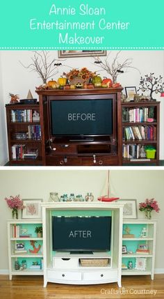 Annie Sloan Chalk Paint Makeover: Before and After Makeover