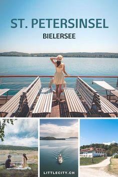 St. Petersinsel auf dem Bielersee: Schöner Auflug in der Schweiz mit dem Schiff Switzerland, German, Coast, Traveling, Wanderlust, Group, City, Water, Happiness