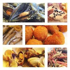 A collection of gastronomic delights from the coast of Spain