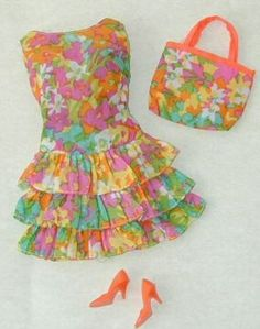 Bouncy Flouncy, my favorite outfit... I have never felt the need to collect Barbies...must be the tomboy in me.