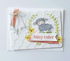 This image is adorable and perfect for Easter.   All images and papers from Stampin'up.