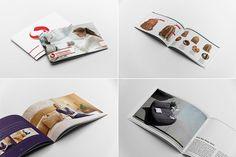 Landscape Brochure Mockups by Andre28 on @creativemarket