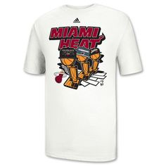 Men's Miami Heat 3X Champion Tee. The Miami Heat have done it again. The NBA Finals Champions are here so get your gear to show your pride. The adidas 3X Champs Tee will keep you looking good and feeling good. The lightweight cotton will keep you cool as you rep [...]