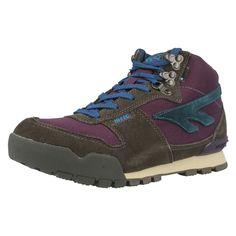 outlet store 223c0 0bf39 Ladies Hi Tec Waterproof Walking Boot In CharcoalPlum Style - Sierra Lite