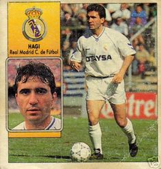 God gammel helt. Gica Hagi, Real Madrid