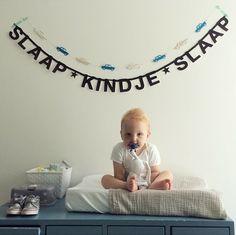 #Wordbanner #tip: #Slaap kindje slaap - Buy it at www.vanmariel.nl - € 11,95