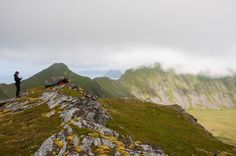 #tourists #værøy #lofoten #norway #travel #mountains