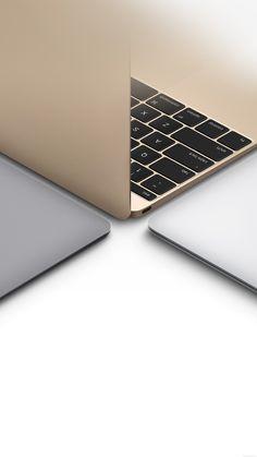 Apple Macbook Gold Silver Slate Gray Art #iPhone #6 #plus #wallpaper