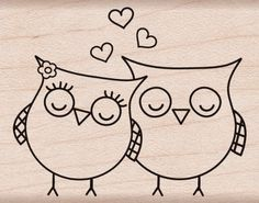 "Hero Arts Mounted Rubber Stamps 1.5""X2""-Heart Owls Mounted Stamp Notions - In Network http://www.amazon.com/dp/B0031H6D7I/ref=cm_sw_r_pi_dp_cD0Wvb1GVZ471"