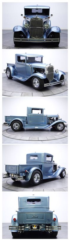 1930 Ford Model A Pickup This is as far as I will go for customizing.