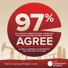Scientific consensus on climate change - humans are the reason.  Do we care?