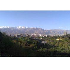 تهران - اردى بهشت ٩٤ - پل طبيعت.  #iran #tabiatbridge #tehran#Loveyoutehran#mywiew#thr