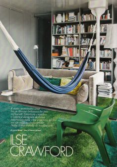 The home of interior designer - and founding editor of Elle Decoration - Ilse Crawford
