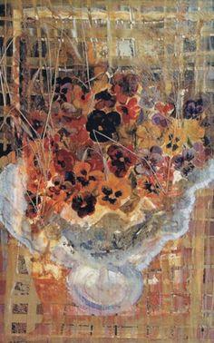 Bouquet of pansies. Illuminating painting by arteboshkoff 5,300.00 €