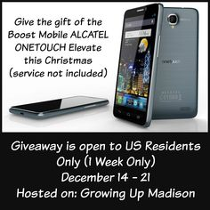 How would you like a new smart phone this Christmas? Well today just might be your lucky day. The ALCATEL ONETOUCH Elevate, priced at $99.99 (plus tax) is powered by a Qualcomm Snapdragon™ quad-core processor and features a 2,000mAh battery. Key features: • Android 5.1 Lollipop: ALCATEL ONETOUCH Elevate features Android 5.1 Lollipop, providing users …
