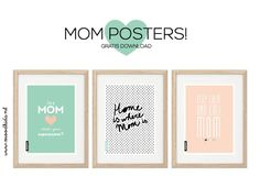 mom quote poster # freebie mother-- you will never find such a stylish place anywhere else . my wish list is growing veryy large! Mother's Day Printables, Printable Planner, Gifts For Mom, Diy Gifts, Projekt Manager, Kids Interior, Quote Posters, Art Posters, Mums The Word