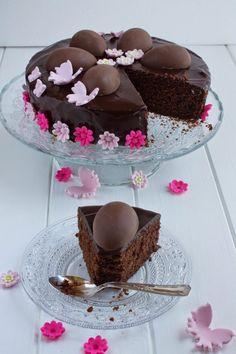 Torta pasquale al cioccolato | Poesie di zucchero e farina