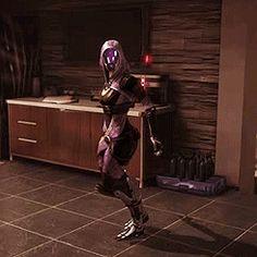 "And Now 8 ""Mass Effect"" Characters Dancing Like No One's Watching... Tali you've been drinking with the induction port again haven't you?"