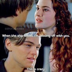 Titanic Funny, Titanic Quotes, Titanic Movie, Rms Titanic, Titanic Leonardo Dicaprio, Young Leonardo Dicaprio, Movie Love Quotes, Tv Quotes, Titanic Behind The Scenes