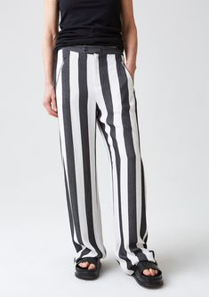 Propose Trouser - Black Stripe - Hope STHLM