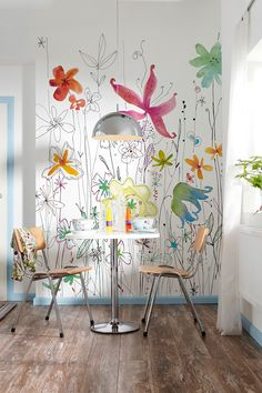 Joli Wall Mural by Brewster Home Fashions on @HauteLook