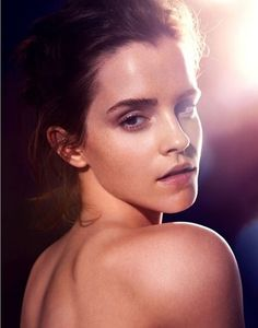 Emma Watson posing topless for Global Green USA  Natural Beauty: Photos and Video