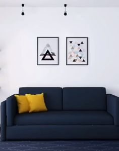 You spend a lot of time in your living room. T it needs to be functional and comfortable. Blending all three things can be tricky. T we've got plenty of examples to inspire you. Sofa Bed Design, Living Room Sofa Design, Home Room Design, Living Room Designs, Small Room Furniture, Bedroom Furniture Design, Space Saving Furniture, Modern Furniture, Small Room Decor