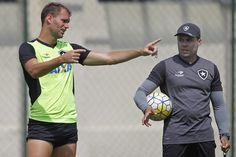 BotafogoDePrimeira: Na volta do zagueiro Carli, Botafogo pega o Boavis...
