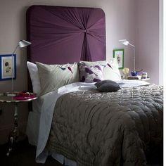 home decoration furniture design bedroom design Five chic bedroom styles Purple Headboard, Home Bedroom, Bedroom Decor, Bedroom Ideas, Master Bedrooms, Bedroom Inspiration, Design Bedroom, Girl Bedrooms, Bedroom Styles
