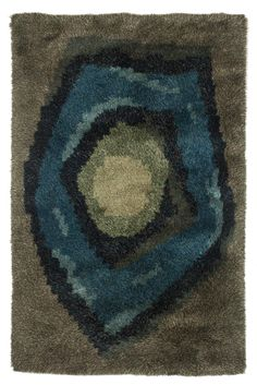 Anonymous; Wool Rya Rug, c1970.