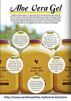 The benefits of Forever Aloe Vera Drinking Gel