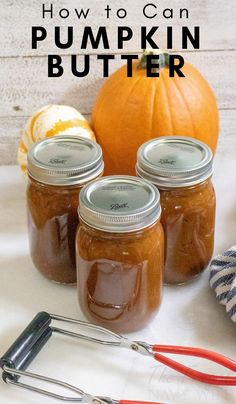 Canning Pumpkin Butter This pumpkin butter recipe will change your mind completely! I also show you how to can Pumpkin Butter for future use and storage. Pumpkin Butter, Canned Pumpkin, Pumpkin Spice, Pumpkin Jam, Canning Pumpkin Puree, Pumpkin Jelly, Freezing Pumpkin, Fresh Pumpkin Recipes, Apple Butter Canning