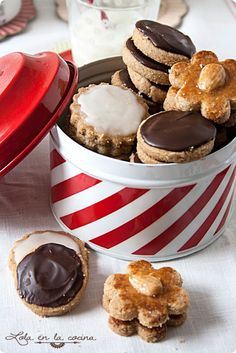 Bakery Recipes, My Recipes, Sweet Recipes, Cookie Recipes, Favorite Recipes, Köstliche Desserts, Delicious Desserts, Yummy Food, Biscuits