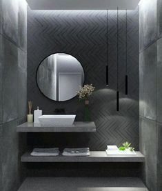 Nord by Fap ceramiche Best Picture For Downstairs Bathroom. Nord by Fap ceramiche Best Picture For Downstairs Bathroom under stairs For Your Taste You Bathroom Design Luxury, Modern Bathroom Decor, Modern Bathroom Design, Bathroom Ideas, Bathroom Organization, Bathroom Storage, Modern Design, Downstairs Bathroom, Bathroom Layout