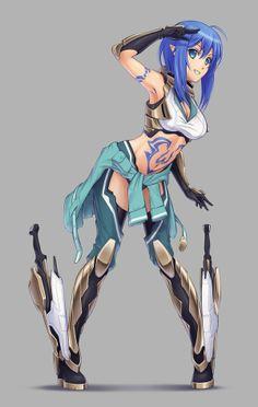 Fantasy Anime Chick