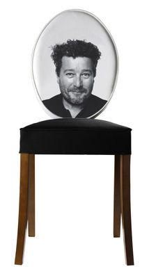 Philippe Starck chair.  Absurd, a bit creepy, hysterical
