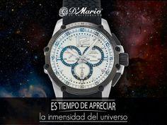 El tiempo es tan preciso como un segundo y tan inmenso como el universo. #PrecisiónSuiza #RelojesDMario #YoAmoDMario #Colombia #Ecuador #Panamá #Tiempo