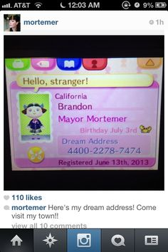 Here's the dream address for Suzy (Mortem3r from YouTube and fiancé of Arin Hanson aka egoraptor on YouTube!)