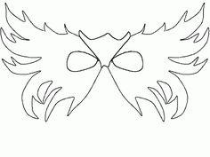 Free Printable Masquerade Masks  Babylon Yahoo Search Results